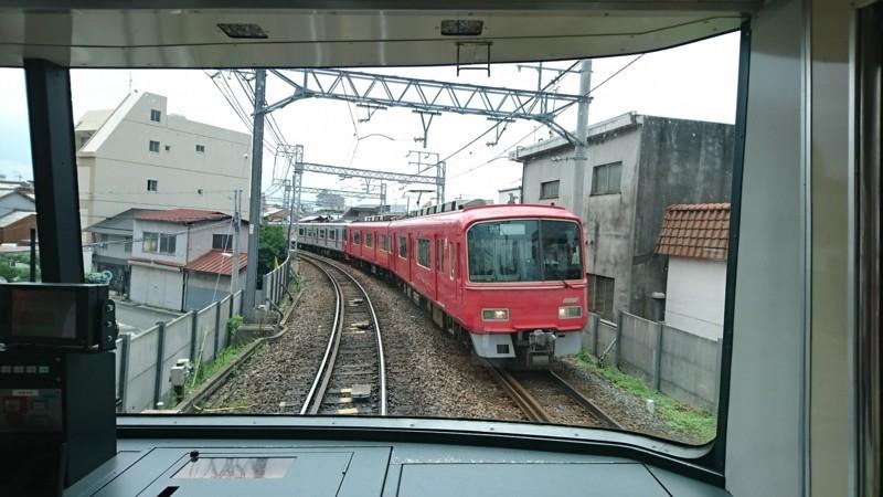 2017.8.3 笠松 (11) 須ヶ口いきふつう - 岐阜-加納間(回送電車) 1920-1080