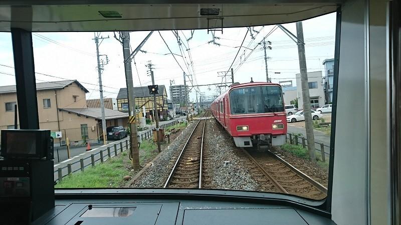 2017.8.3 笠松 (15) 須ヶ口いきふつう - 茶所-岐南間(岐阜いき急行) 800-4