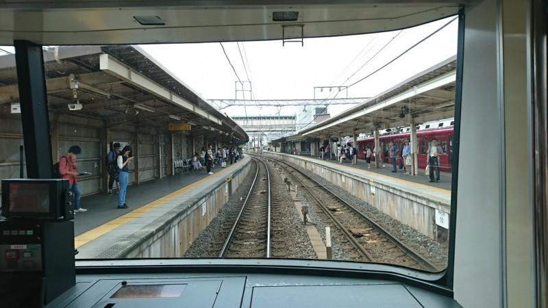 2017.8.3 笠松 (20) 須ヶ口いきふつう - 笠松 1920-1080