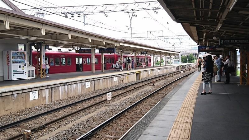 2017.8.3 笠松 (22) 笠松 - 新羽島いきふつう 800-450