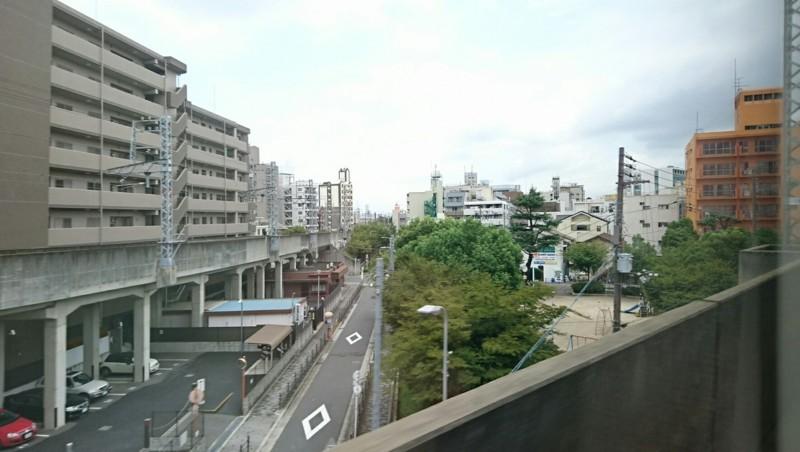 2017.8.18 サザン (20) サザン14号 - 汐見橋線が分岐 1770-1000