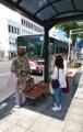 2017.10.10 東岡崎 (19) 康生町バス停 - 岡崎駅前いきバス 720-1140