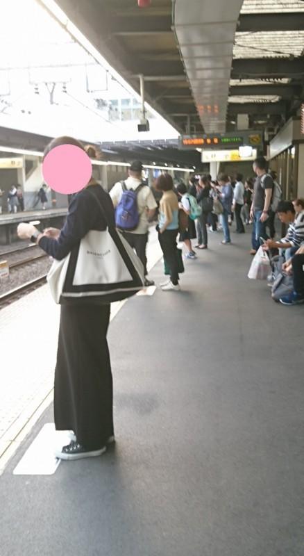 2017.10.12 東京 (146) 下高井戸 - 新宿方面ホーム 700-1280