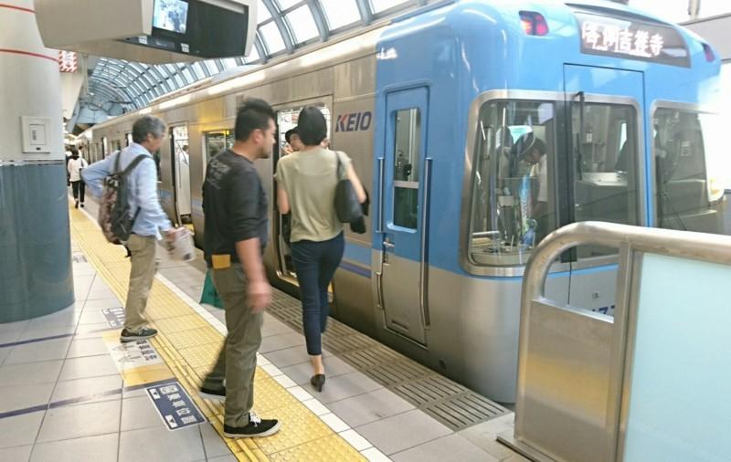 2017.10.12 東京 (158) 渋谷 - 吉祥寺いき各停 1630-1030