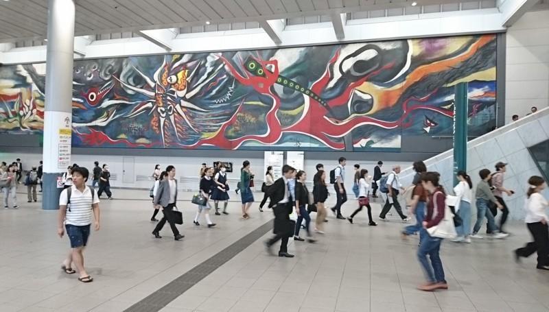 2017.10.12 東京 (159) 渋谷 - 「あしたの神話」 1900-1080