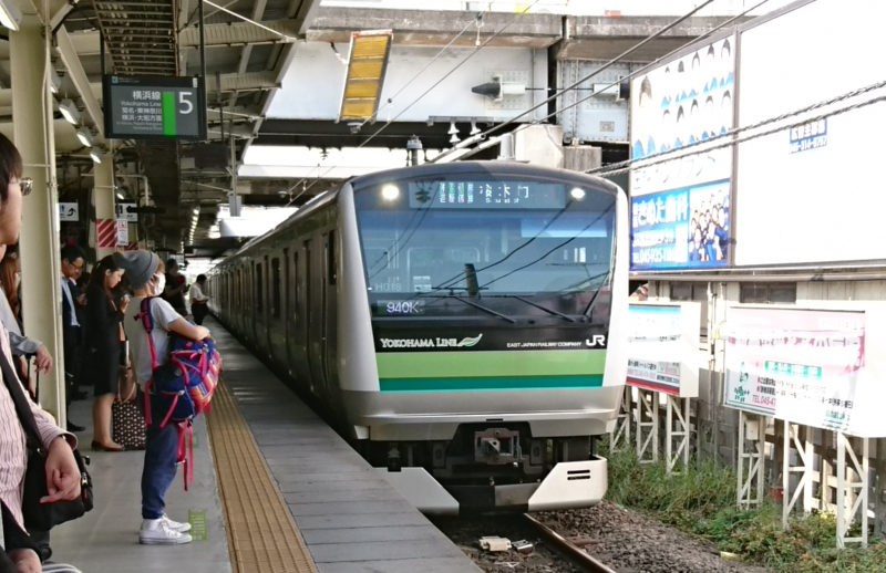 2017.10.12 東京 (11-1) 新横浜 - 桜木町いき各停 1050-680