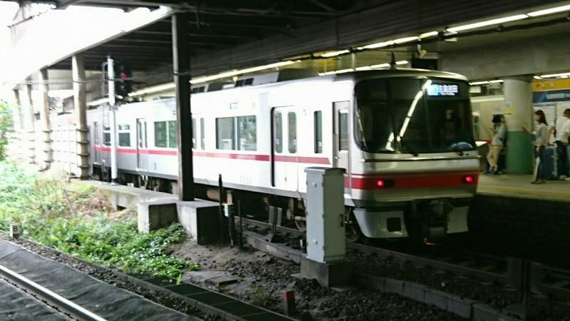 2017.10.14 きのこ列車 (1) 金山 - 吉良吉田いき急行 800-450
