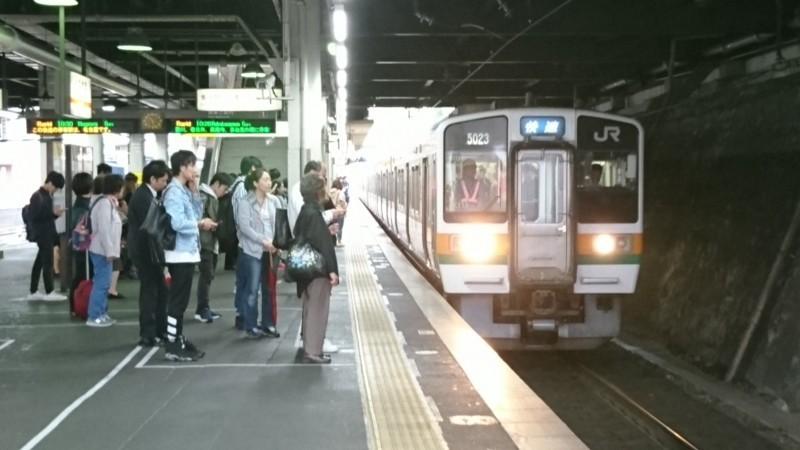 2017.10.14 きのこ列車 (2) 金山 - 中津川いき快速 1920-1080