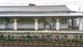 2017.10.14 きのこ列車 (7) 釜戸 - 駅舎 800-450