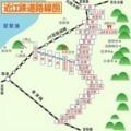 近江鉄道の路線図 440-440