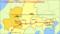 リニア中央新幹線の経路とえきの位置図(岐阜県リニア中央新幹線活用