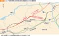 OKB総研 (1) リニア岐阜県駅と既存鉄道・高速道路の位置関係 516-316