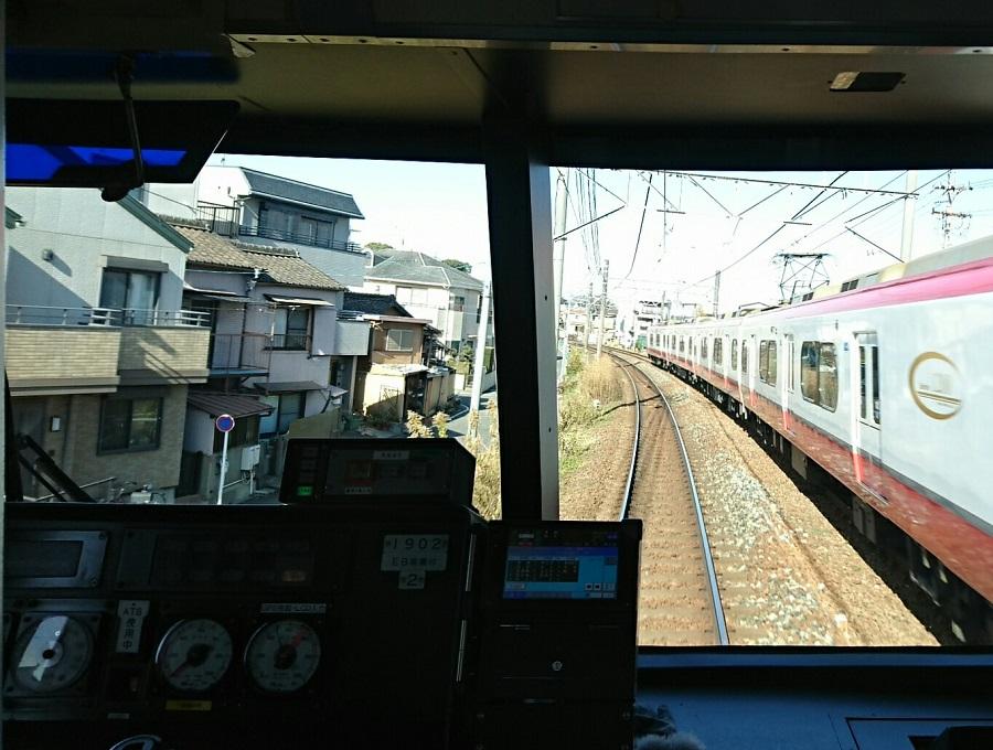 2017.12.15 名古屋 (13) 岐阜いき特急 - 豊橋いき特急(桜すぎ) 900-680