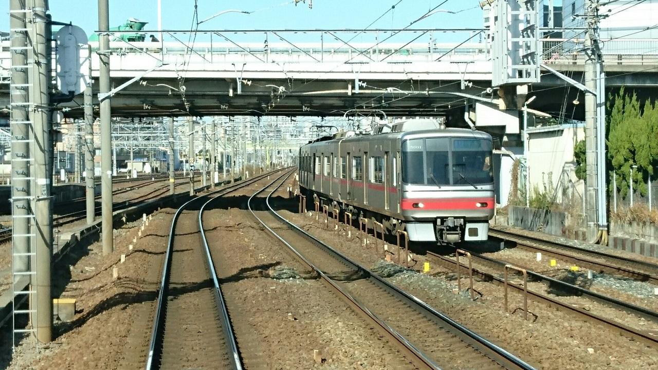 2017.12.15 名古屋 (16) 岐阜いき特急 - 内海いき急行(神宮前) 1280-720