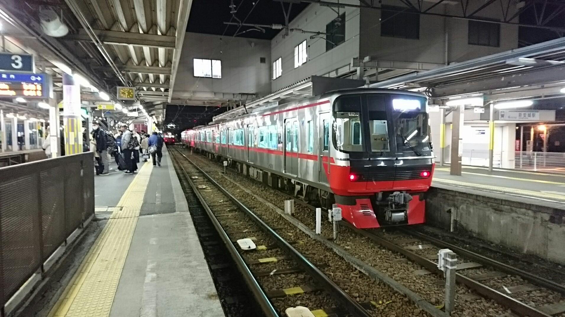 2017.12.19 名古屋 (2) しんあんじょう - しんあんじょういきふつう