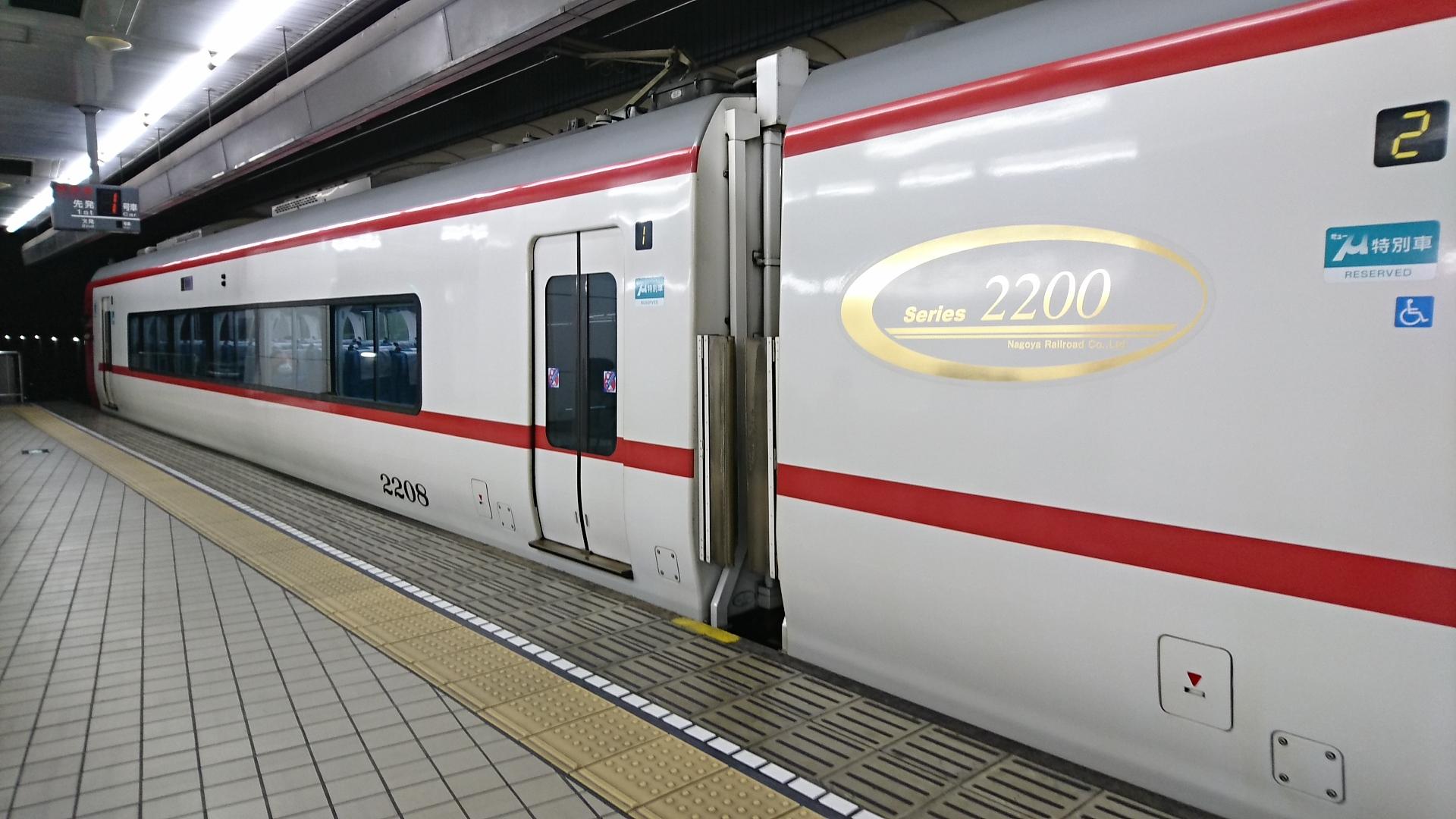 2017.12.19 名古屋 (5) 名古屋 - 岐阜いき特急