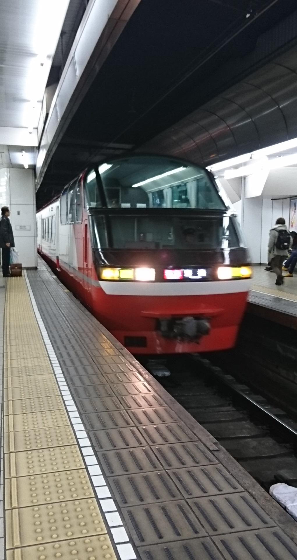 2017.12.26 (11) 19:03 名古屋 - 豊橋いき特急 1020-1920