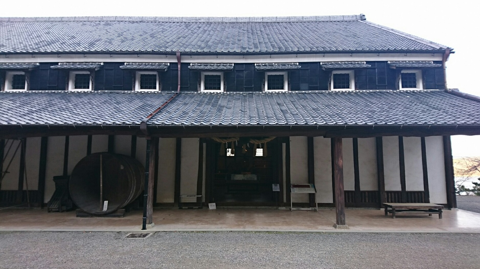 2017.12.28 明治村 (25) 菊の世酒蔵 1850-1040
