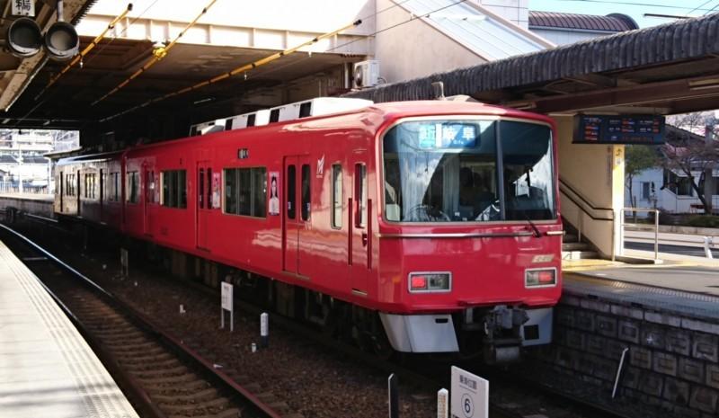 2017.12.29 犬山 (7) 5番 - 岐阜いき急行 1860-1080