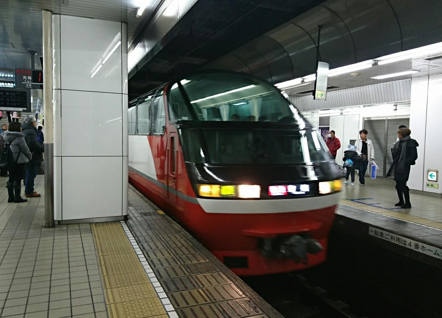 2018.1.3 名鉄 (6) 名古屋 - 豊橋いき特急 1430-1030