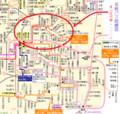 〔強調〕名鉄バス路線図 - 東山住宅線と九久平線(路線図ドットコム 20