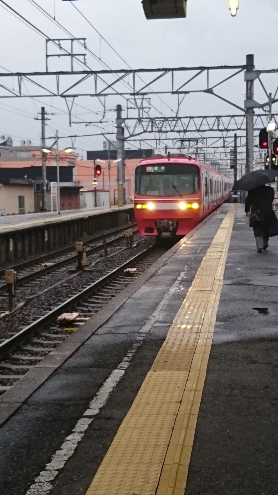 2018.1.8 名古屋 (6) しんあんじょう - 岐阜いき特急 1080-1920
