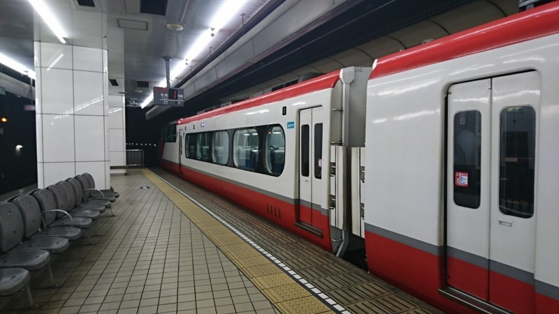 2018.1.8 名古屋 (9) 名古屋 - 岐阜いき特急 1920-1080