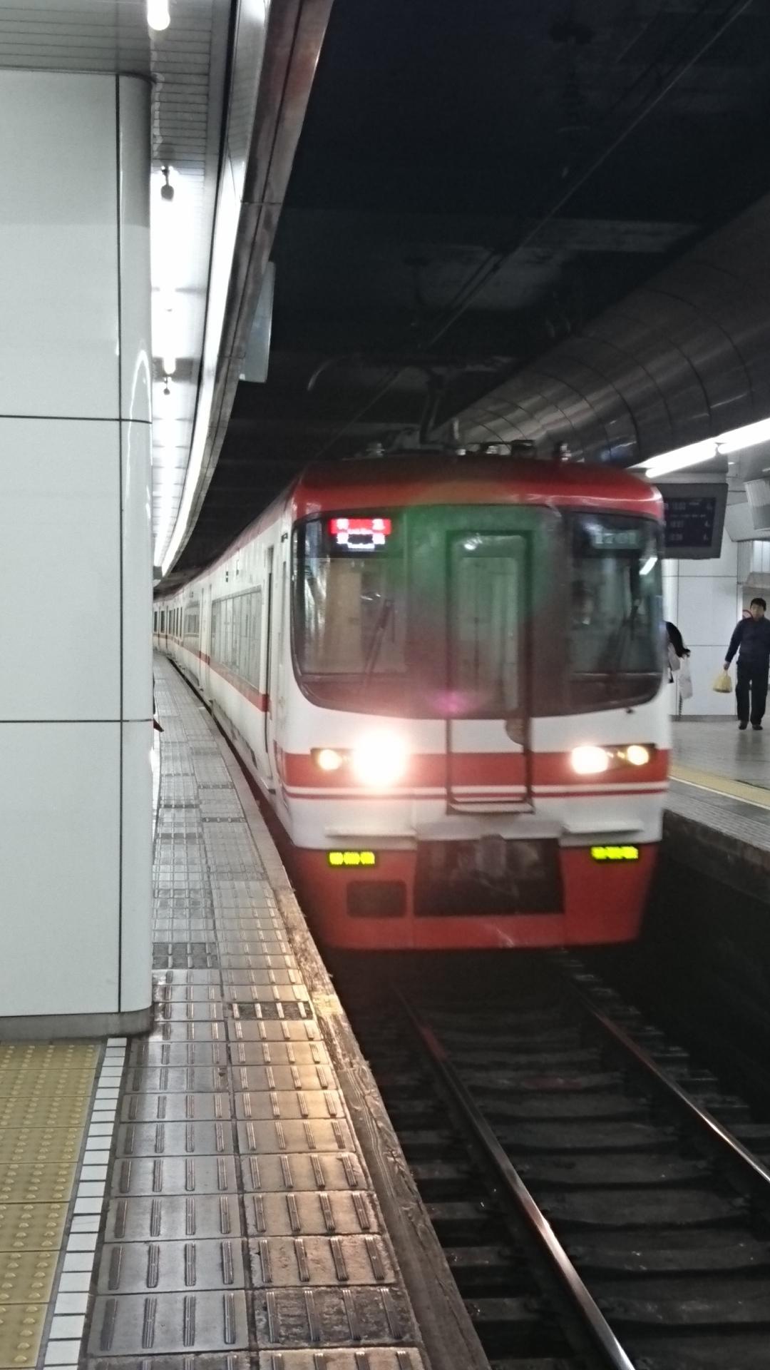 2018.1.8 名古屋 (14) 名古屋 - 豊橋いき特急 1080-1920