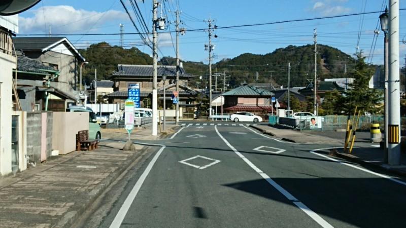2018.1.11 みさくぼ (34) 北遠本線 - 二俣横町バス停