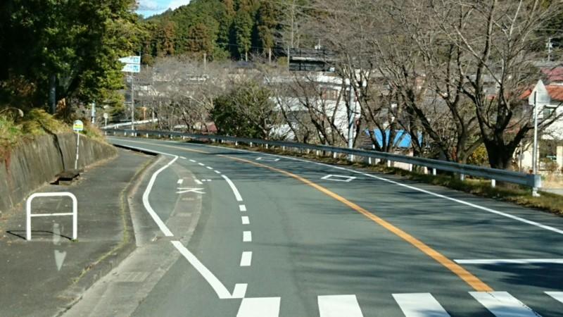 2018.1.11 みさくぼ (47) 北遠本線 - 船明(ふなぎら)バス停 1280-720