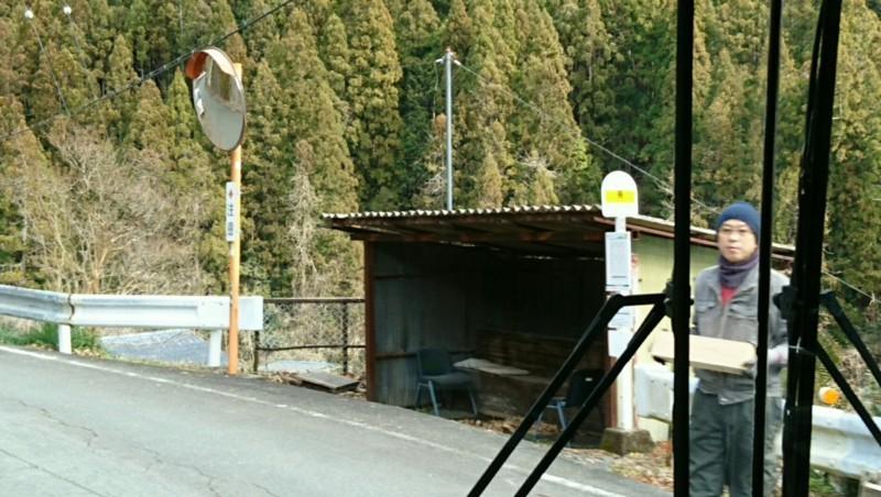 2018.1.11 みさくぼ (148) 北遠本線 - 島バス停 1240-700