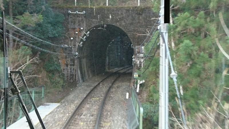 2018.1.11 みさくぼ (208) 豊橋いきふつう - トンネル(向市場-城西間) 960