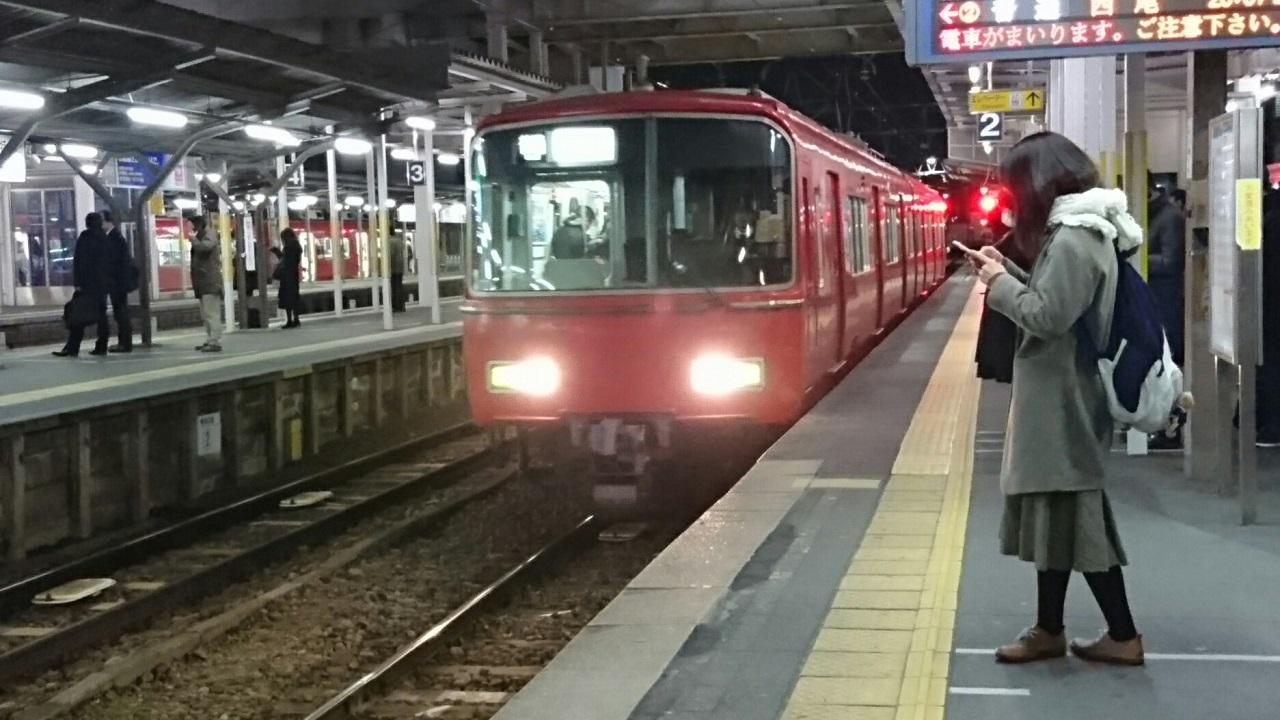 2018.1.15 名古屋 (10) しんあんじょう - 西尾いきふつう 1280-720
