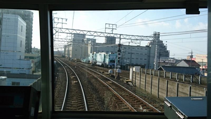 2018.1.23 弥富 (20) 佐屋いきふつう - 津島てまえ 1280-720