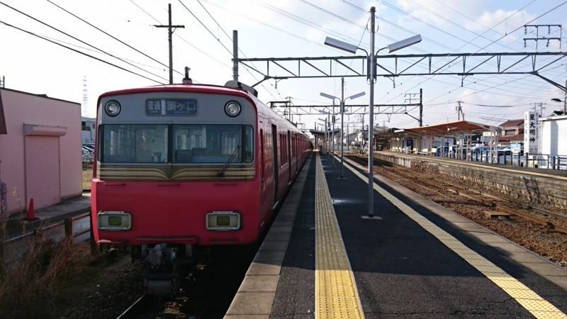 2018.1.23 弥富 (33) 佐屋 - 須ヶ口いきふつう 1920-1080