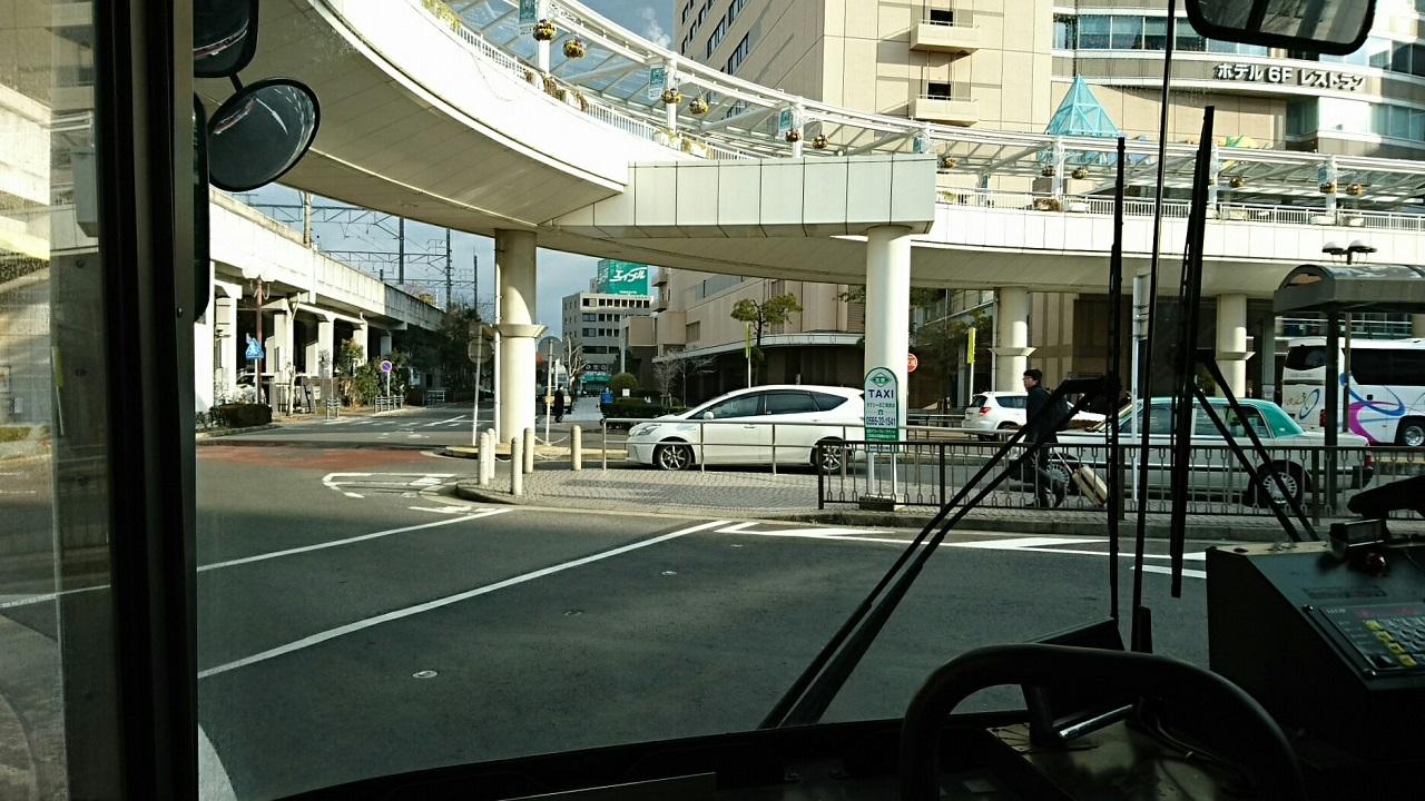 2018.2.5 東山住宅線 (3) 豊田市バス停 1280-720