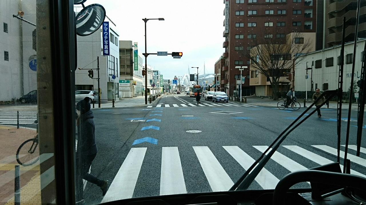 2018.2.5 東山住宅線 (7) 喜多町3丁目交差点 1280-720