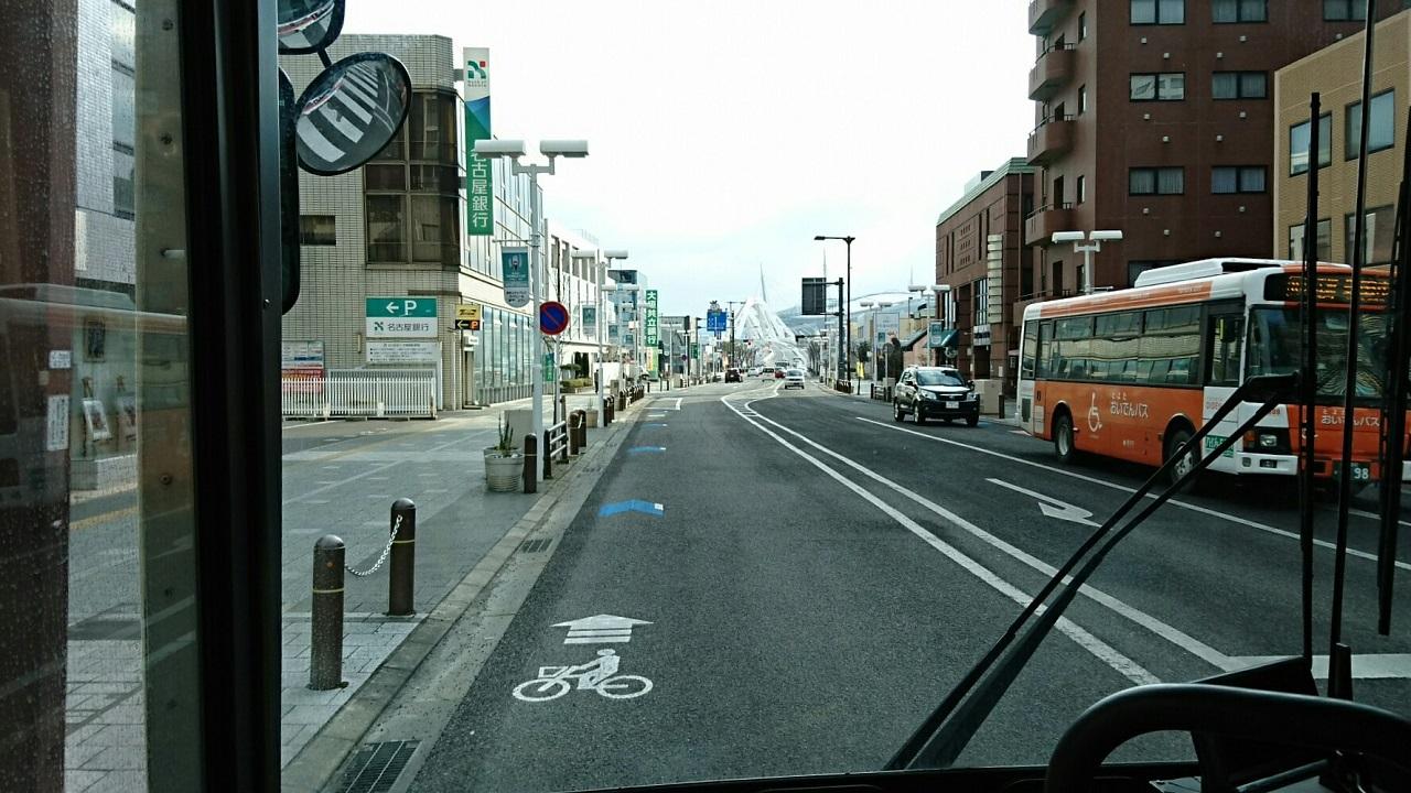 2018.2.5 東山住宅線 (8) えきまえどおり 1280-720