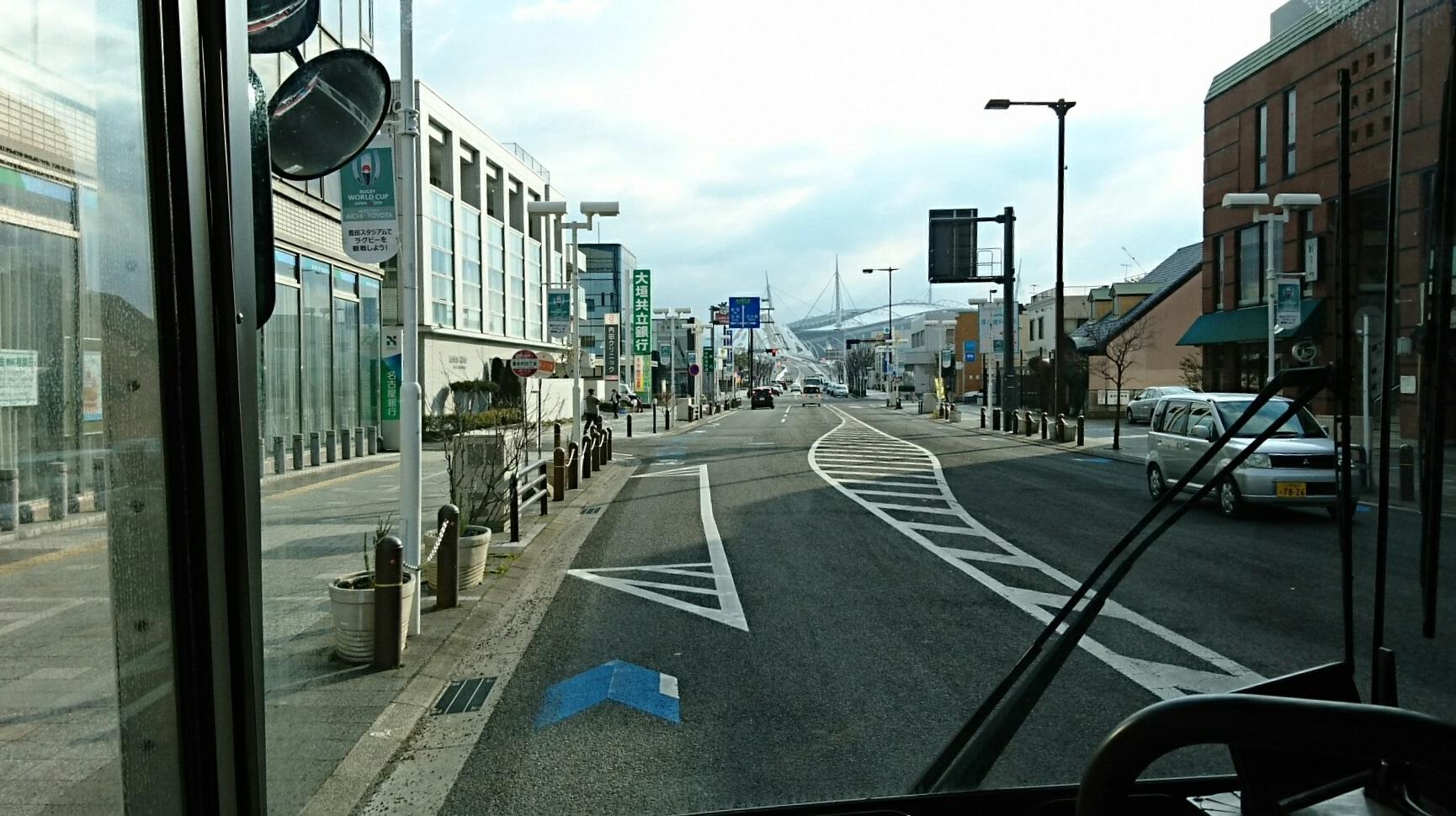 2018.2.5 東山住宅線 (9) 喜多町4丁目バス停 1730-970
