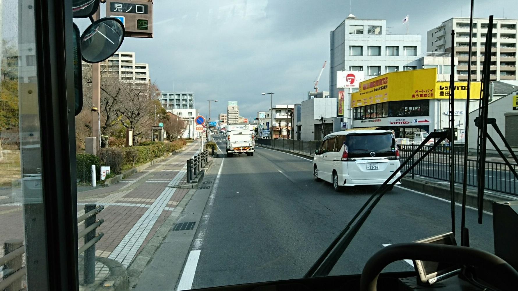 2018.2.5 東山住宅線 (13) 東豊田バス停 1780-1000
