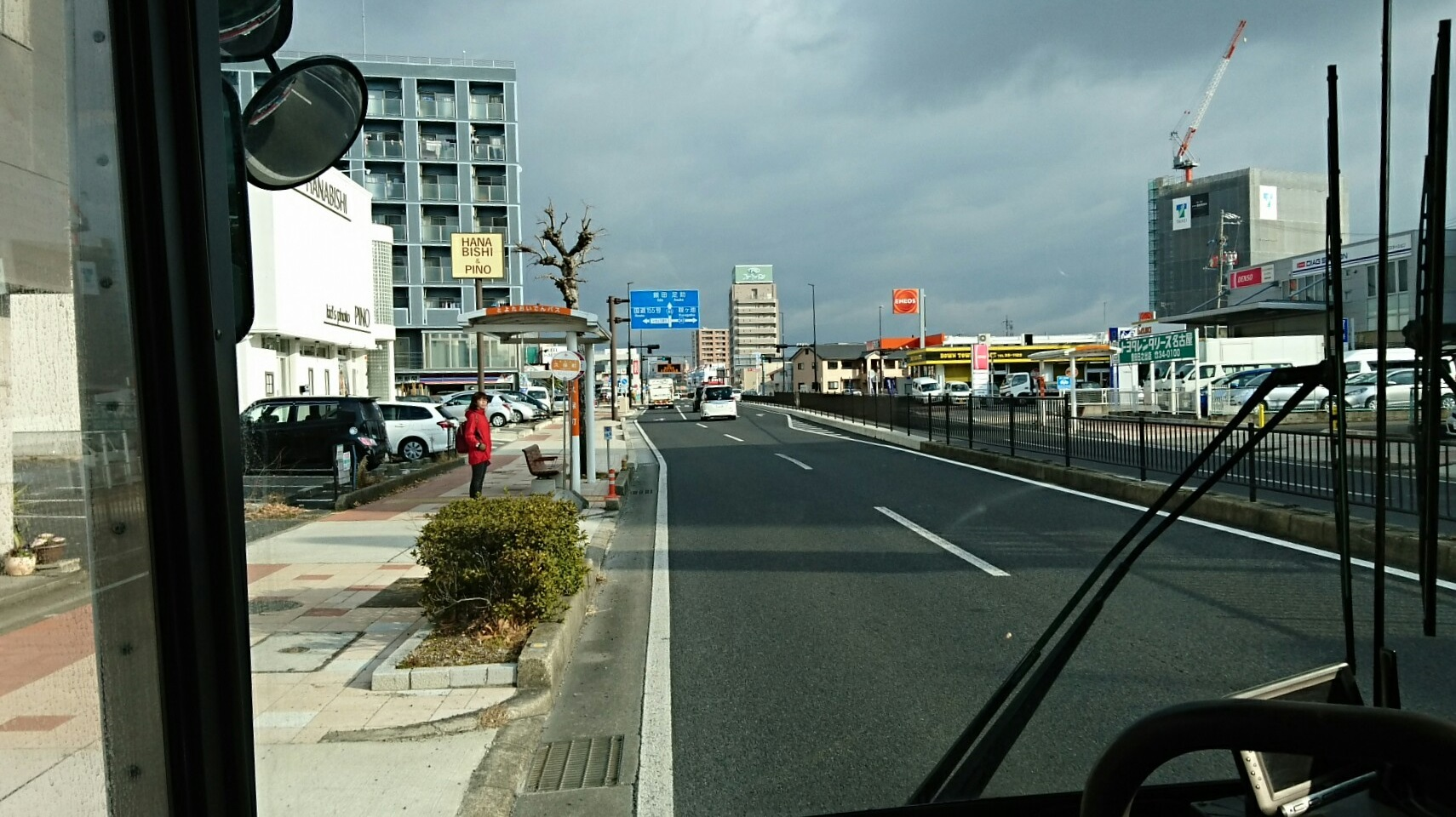 2018.2.5 東山住宅線 (15) 久保町バス停 1710-960