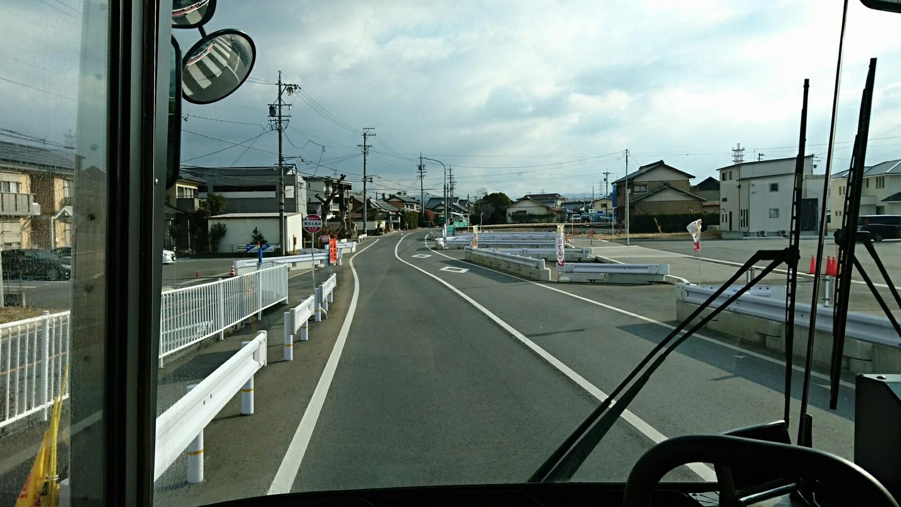 2018.2.5 東山住宅線 (20) 豊田北高前バス停 1830-1030