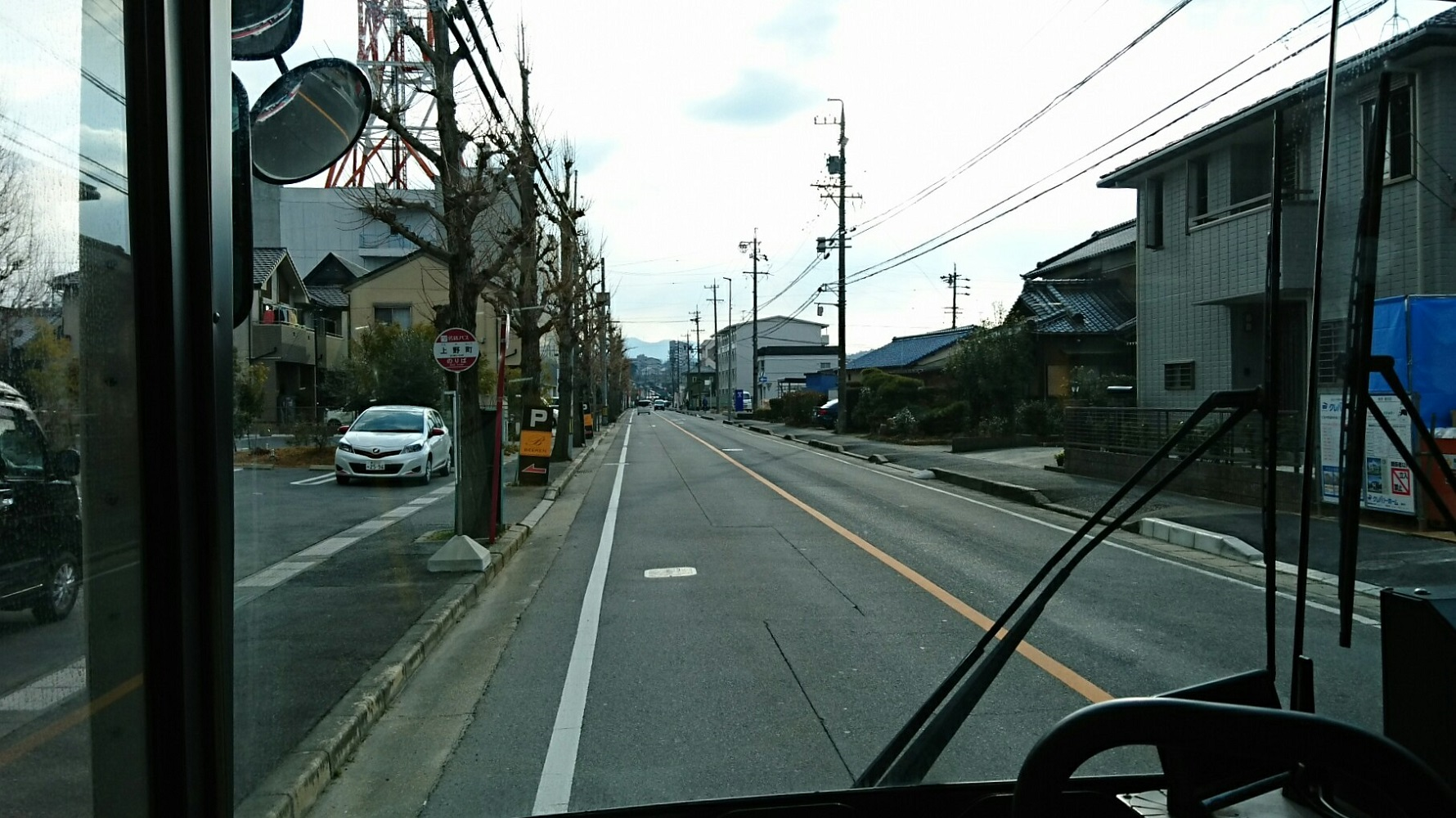 2018.2.5 東山住宅線 (31) 上野町バス停 1780-1000