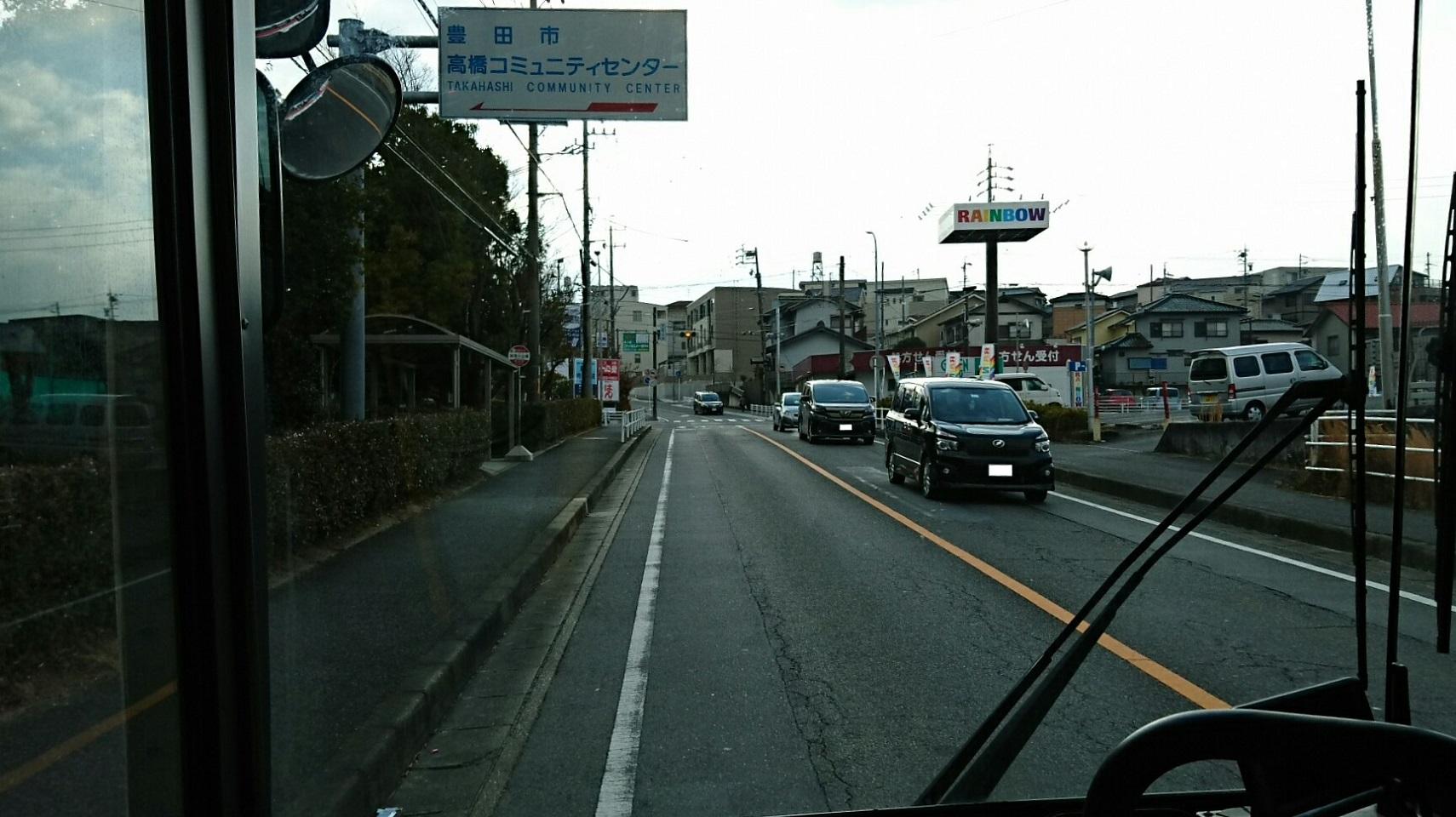 2018.2.5 東山住宅線 (37) 加茂川公園バス停 1710-960