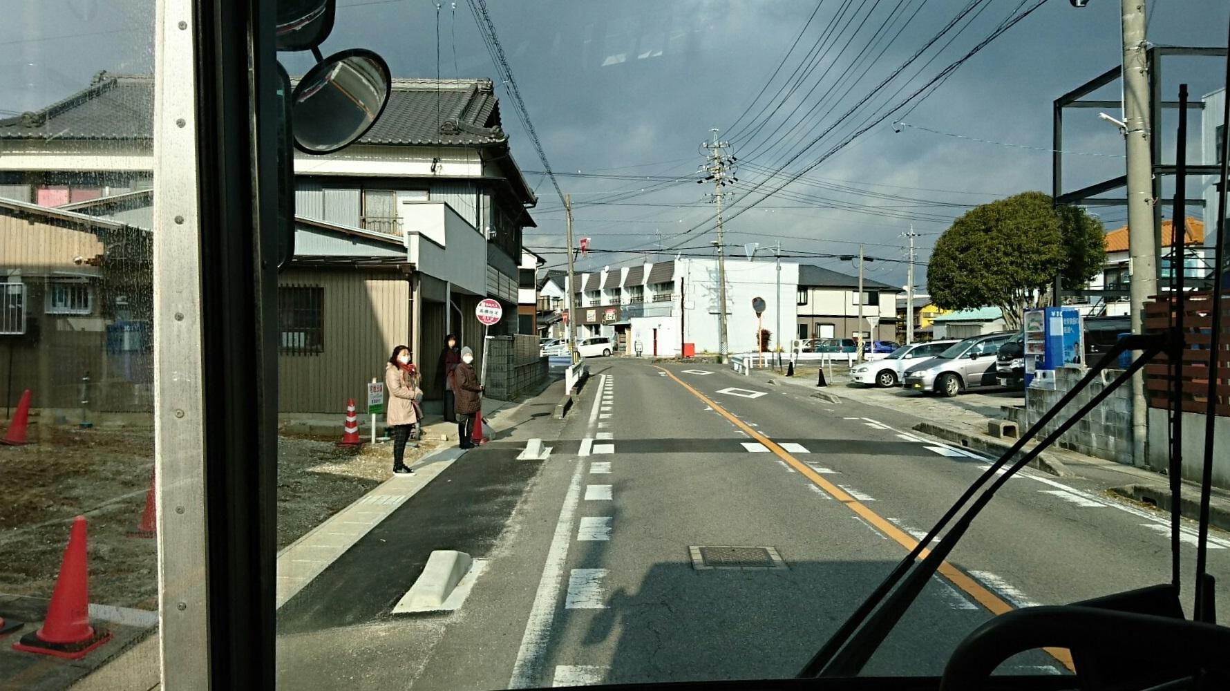 2018.2.5 東山住宅線 (55) 高橋住宅バス停 1780-1000