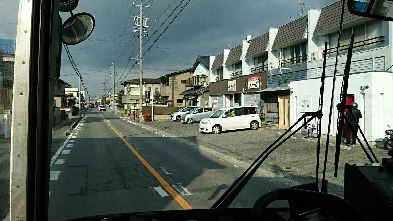 2018.2.5 東山住宅線 (57) 高橋住宅バス停すぎ 1280-720