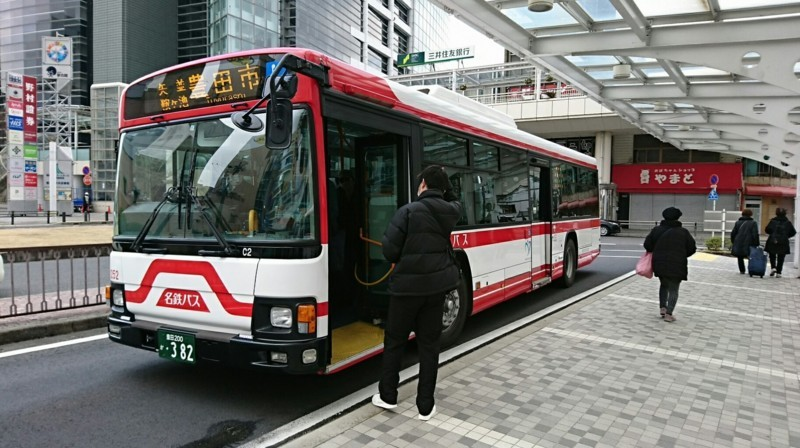 2018.2.5 東山住宅線 (80) 豊田市バス停 1820-1020