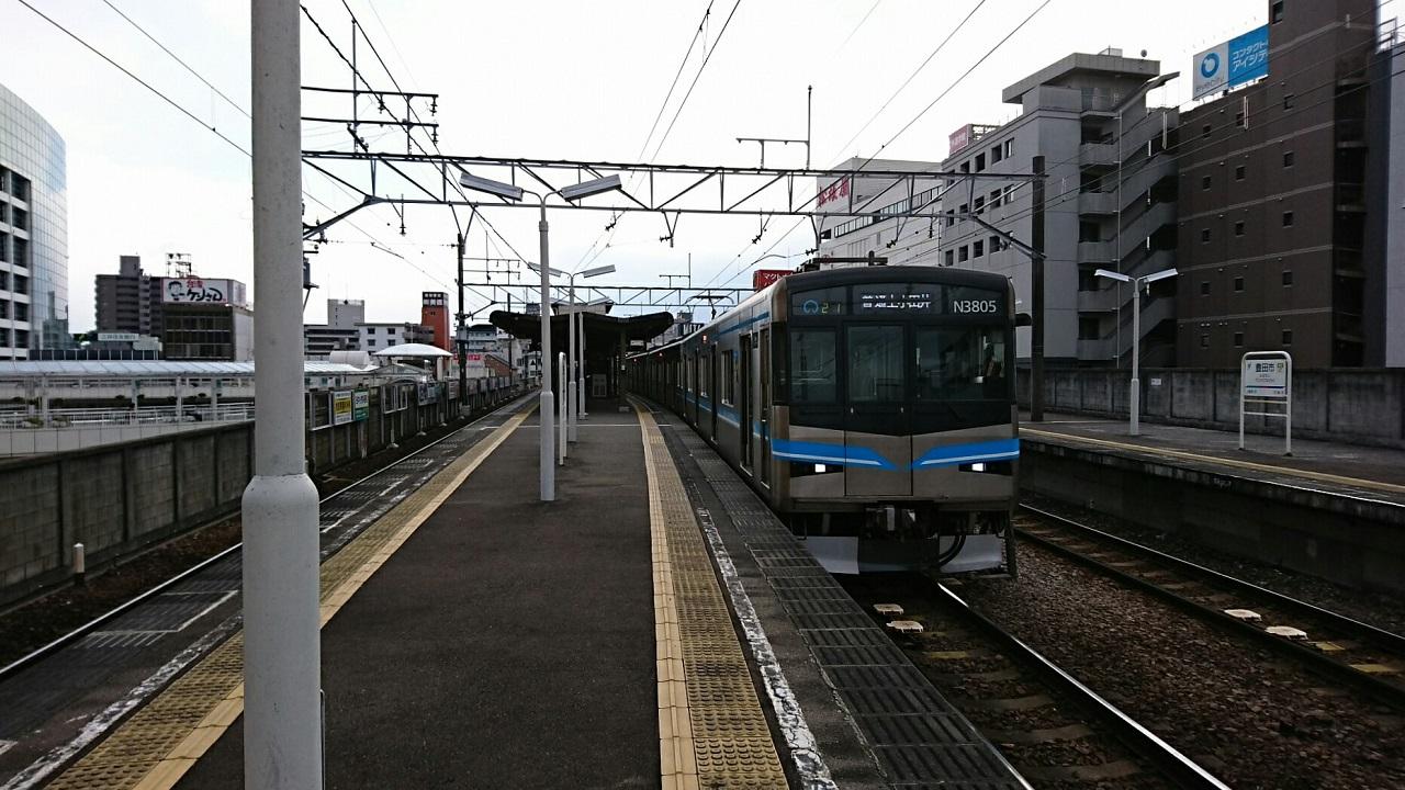 2018.2.5 三河線かえり (3) 豊田市 - 上小田井いきふつう 1280-720