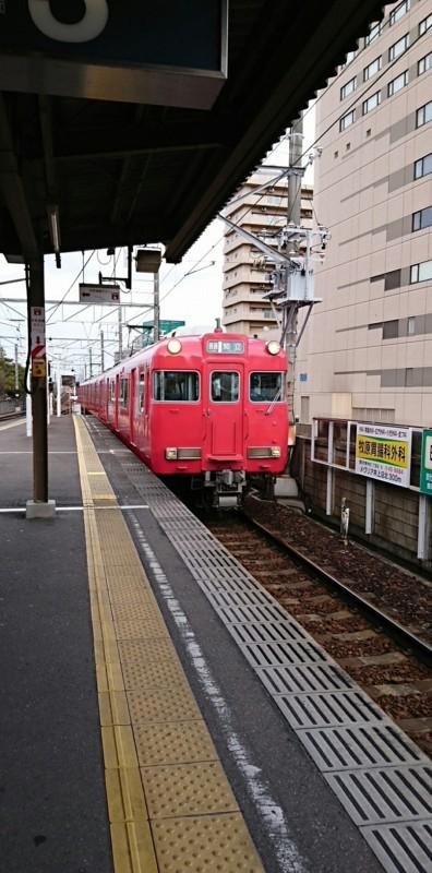 2018.2.5 三河線かえり (5) 豊田市 - 知立いきふつう 920-1860
