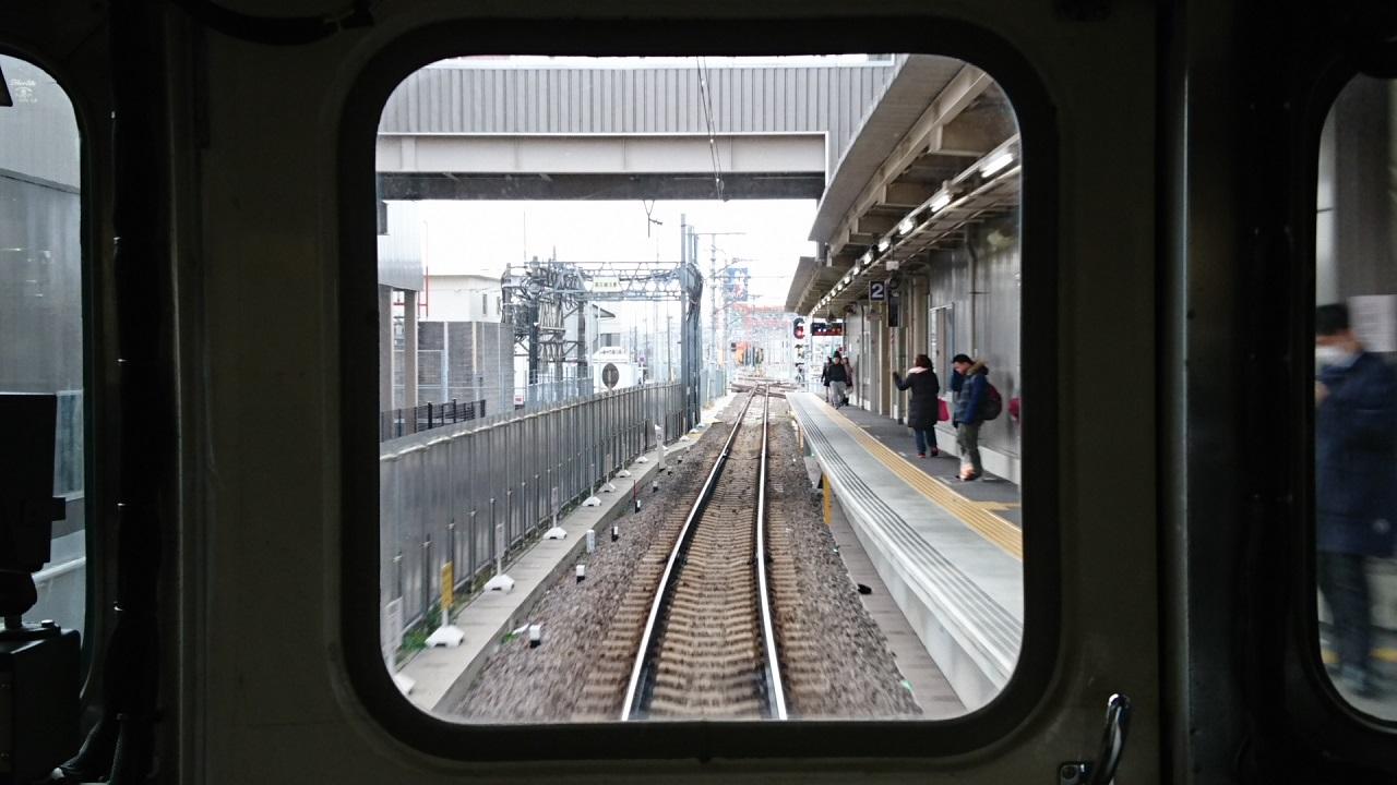2018.2.5 三河線かえり (9) 知立いきふつう - 知立 1280-720